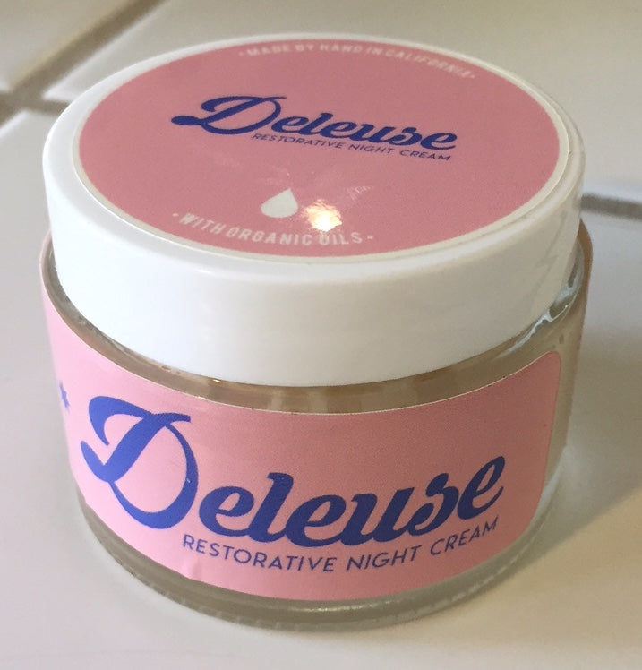 Deleuse Restorative Night Cream without Preservatives, Dyes or Fillers