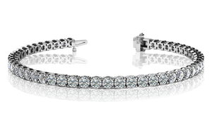 Lazare Ideal Cut Diamond Tennis Bracelet