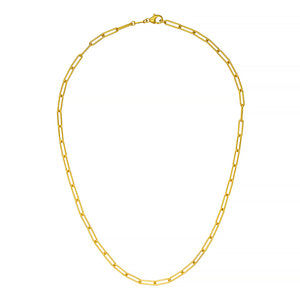 18K Yellow Gold LInk Chain, SOLD