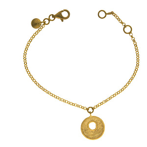 14k Yellow Gold Bracelet,SOLD