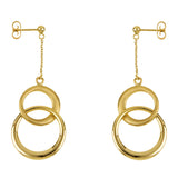 Italian 14K Gold Earrings