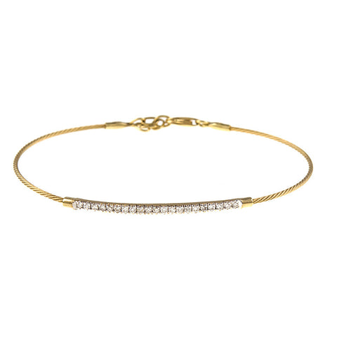 14K Yellow Gold Snake Chain