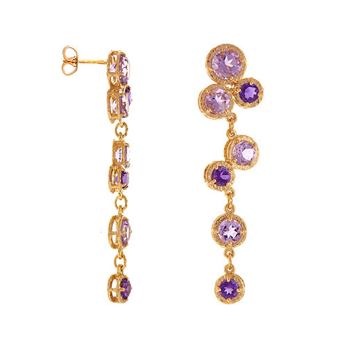 Amethyst Earrings, SALE