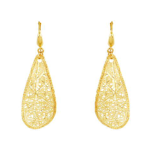 14K Gold Mod Earrings, SALE