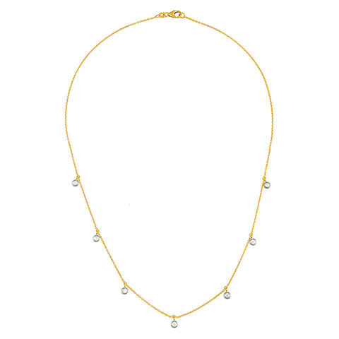 Diamond Chain Necklace