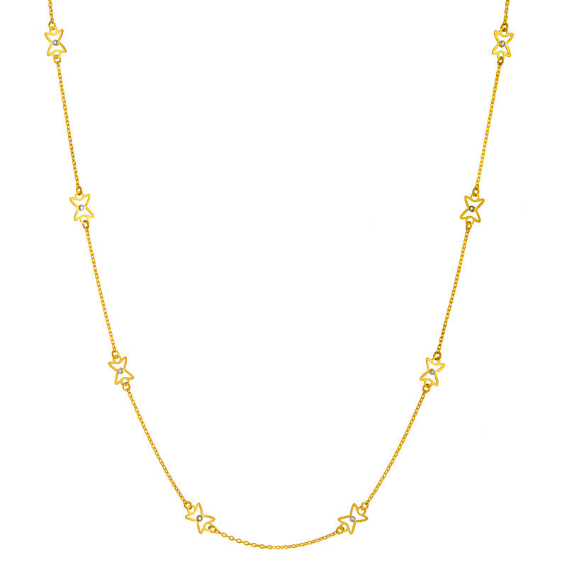 18K Chain with Diamonds, SALE, SOLD