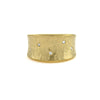 Italian Gold and Diamond Ring