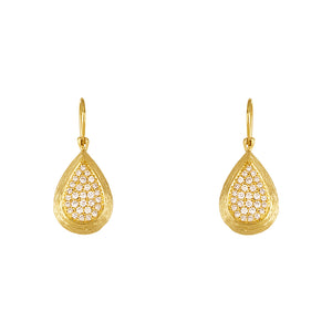 18k Diamond Earrings, SOLD