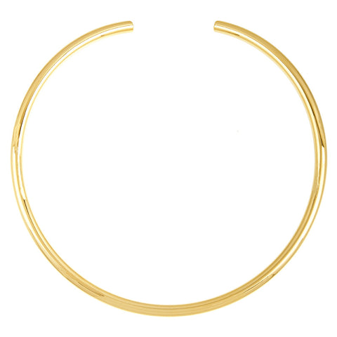 14k Yellow Gold Bead Chain Necklace