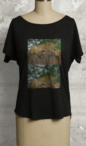 Janet Deleuse Photograph Tee, SOLD