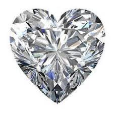 1.21 cts. Heart Shaped Loose Diamond