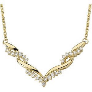Diamond Necklace, SOLD