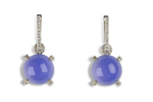 Jennifer Rabe-Morin Chalcedony Earrings