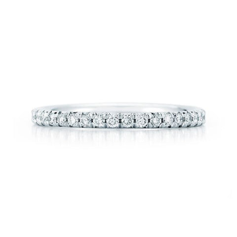 Diamond Halo Ring in White and Rose Gold, .61 cts. Center Diamond