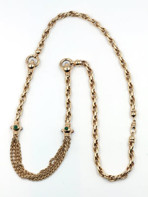 Vintage Gold Necklace, SOLD