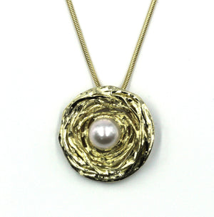 Vintage Gold and Pearl Pendant, SALE, SOLD