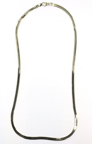 Vintage 14K Gold Herringbone Chain