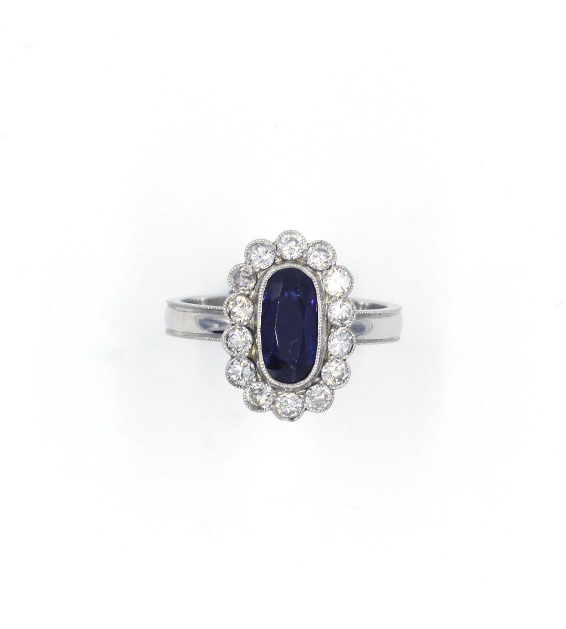 Vintage Sapphire and Diamond Ring, SALE, SOLD