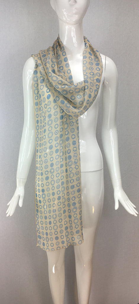 Janet Deleuse Silk Chiffon Scarf, Sold Out
