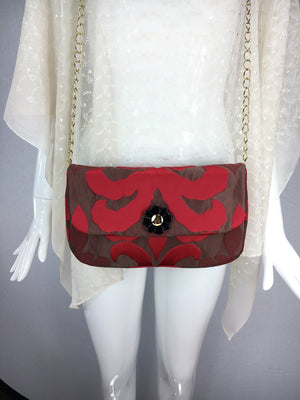 Brocade Bag with Chain Strap, SOLD