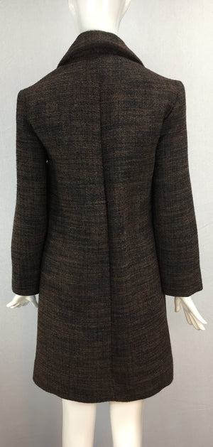 Janet Deleuse Designer Couture Wool Coat, SOLD