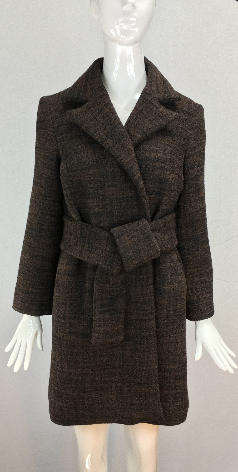 Janet Deleuse Designer Couture Wool Coat, SALE!
