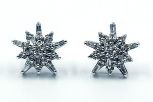 Vintage Diamond Earrings, SOLD