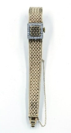 Vintage Gold and Diamond Watch, SOLD