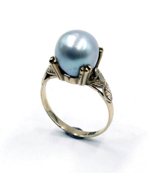 Vintage Baroque Pearl Ring, SOLD