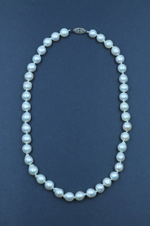 Vintage Cultured Pearl Necklace