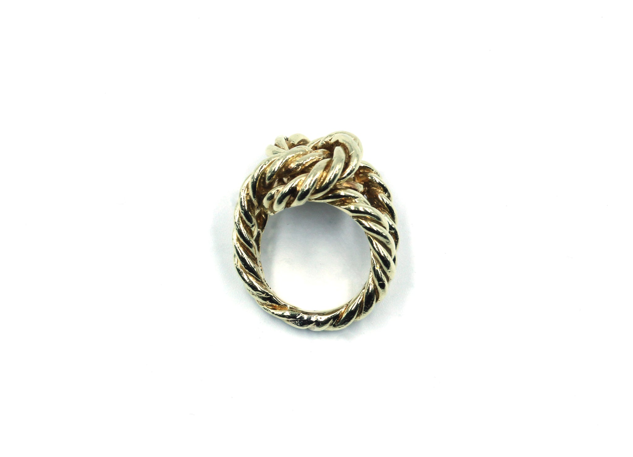 Vintage Gold Knot Ring