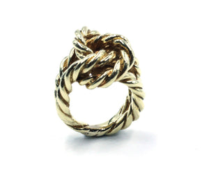 Vintage Gold Knot Ring, SOLD