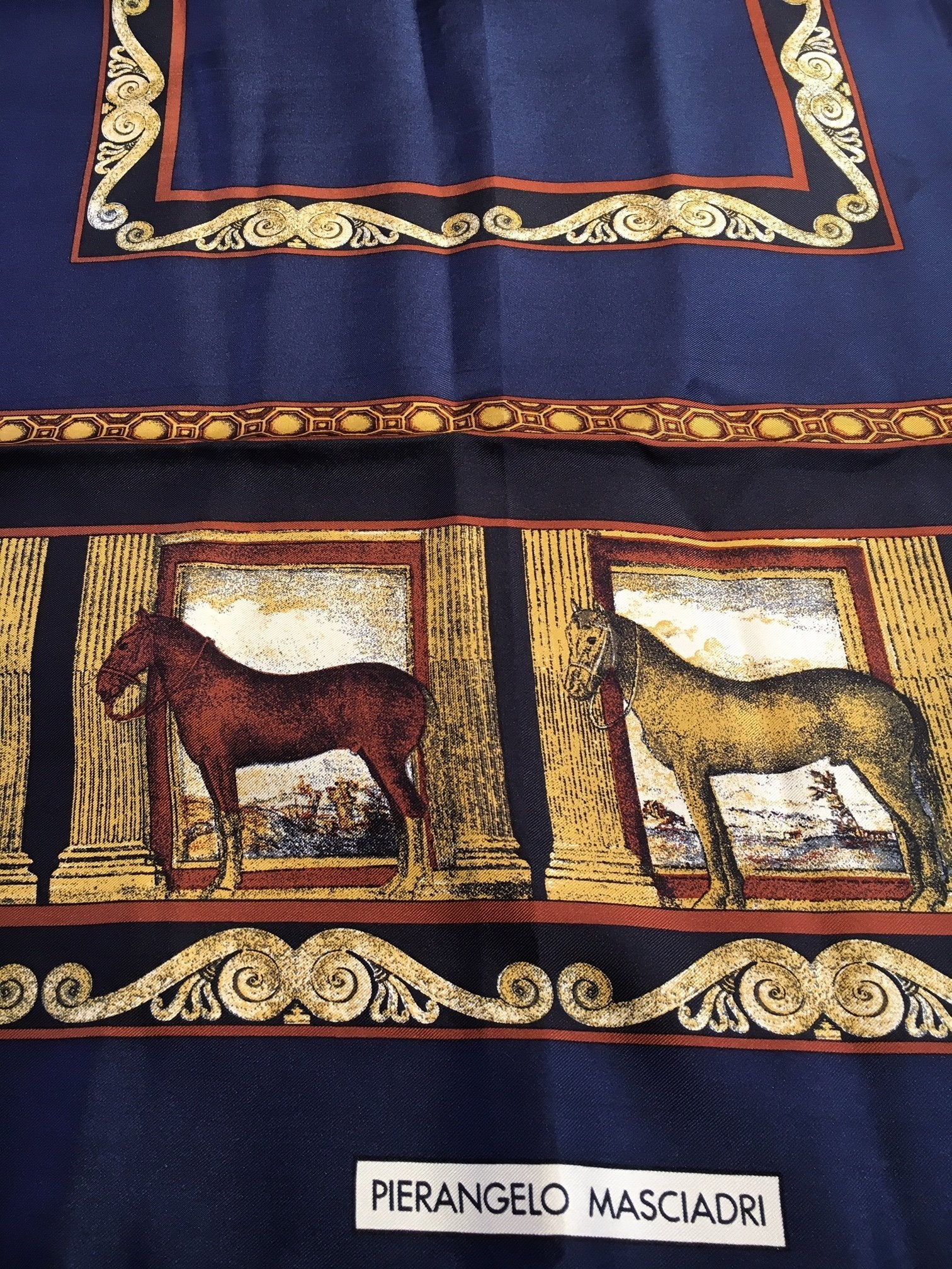 Pre-Owned  Pierangelo Masciadri Silk Scarf, SALE, SOLD