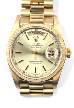 Vintage 18K Rolex President Watch, SOLD