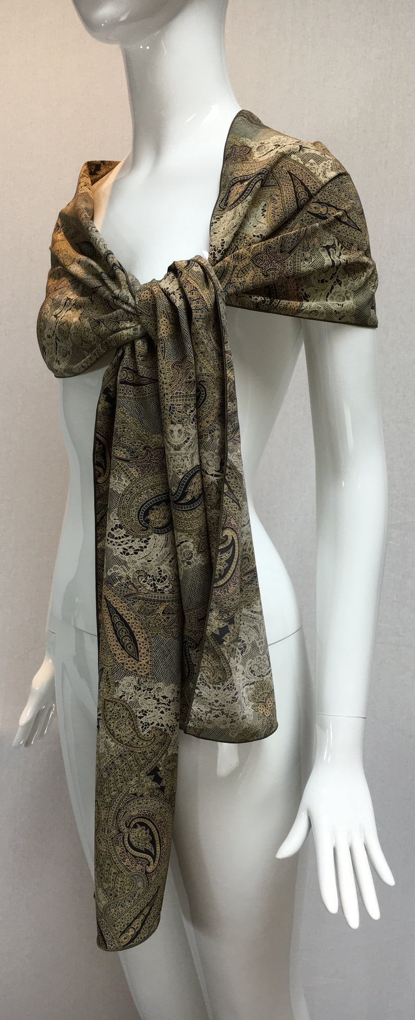 Deleuse Silk Scarf, SOLD OUT