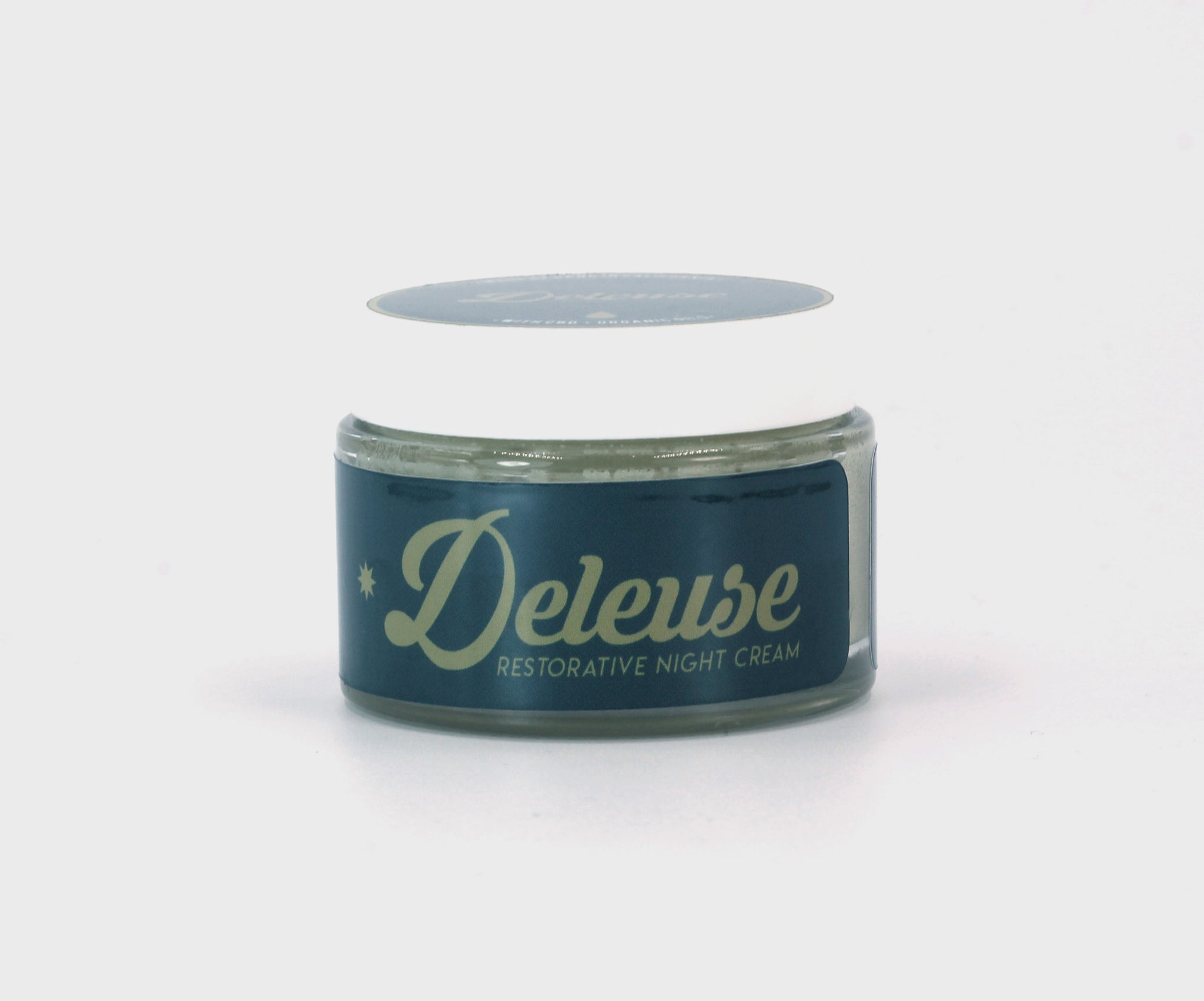Deleuse Restorative Night  Cream with Organic Hemp Oil
