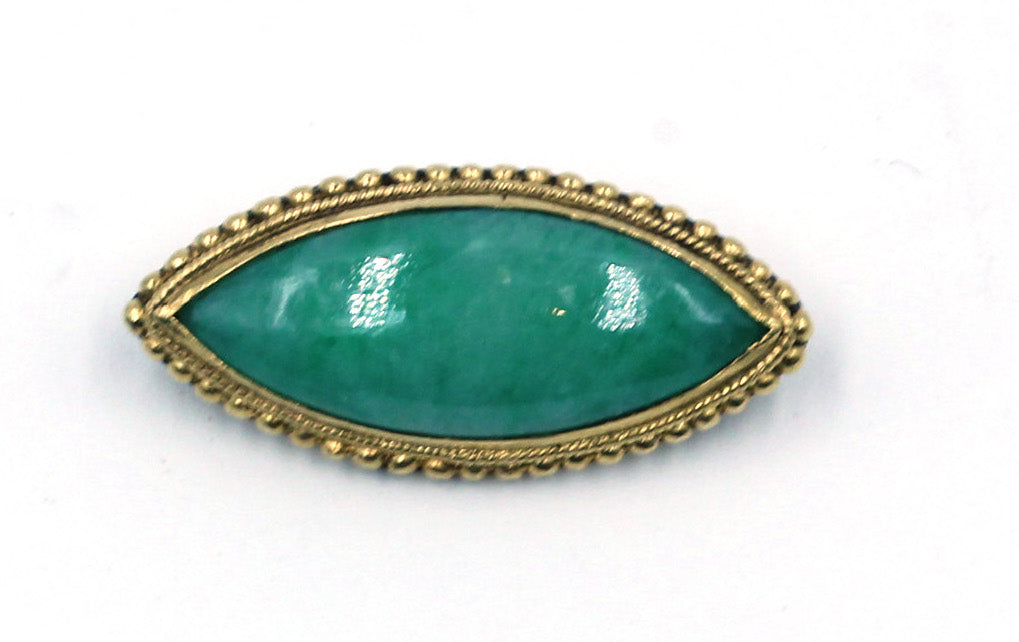 Vintage Jade Pin, SALE