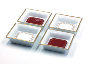 Vintage Cartier Porcelain Trinket Dishes