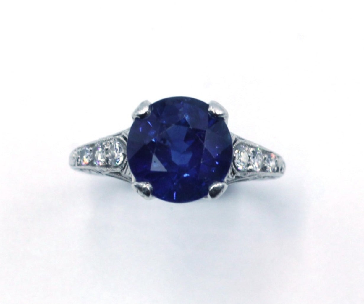 Vintage Sapphire Ring, SOLD