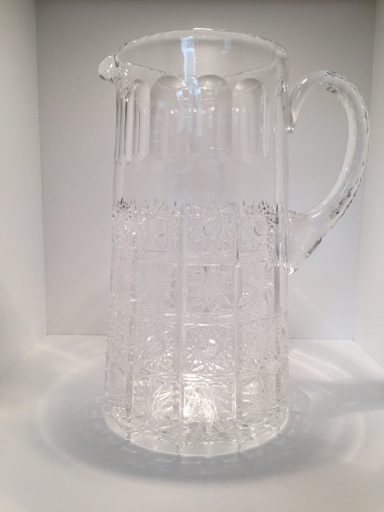 Vintage Crystal Pitcher