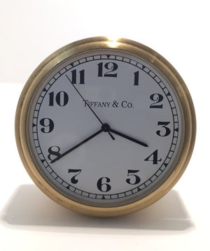 Vintage Tiffany Desk Clock, SOLD