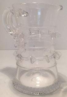 Vintage Hand-blown Glass Creamer