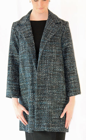 Janet Deleuse Couture Wool Coat, SALE!