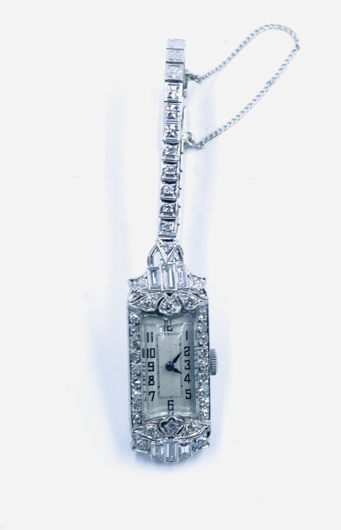 Vintage Deco Diamond Watch
