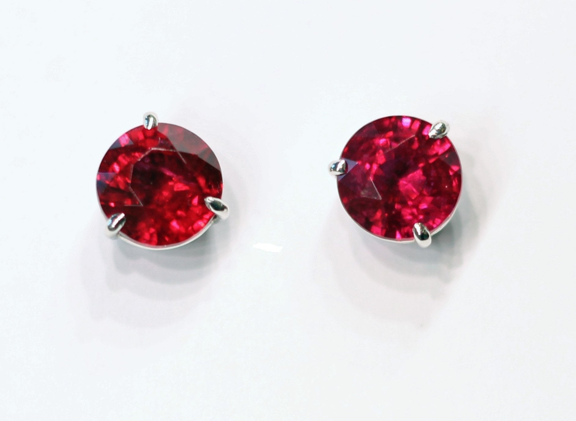 Deleuse Fine Gem Ruby Earrings, SOLD