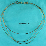Tiffany 18K Elsa Peretti Wave Collection Necklace, SOLD