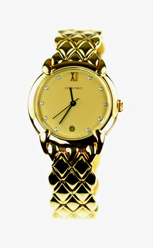 Ladies 18K Gold Chaumet Watch