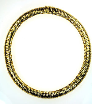 Vintage Italian Gold Necklace, SOLD