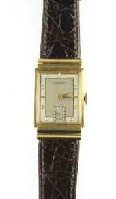 Vintage 18K Gold Hamilton Watch