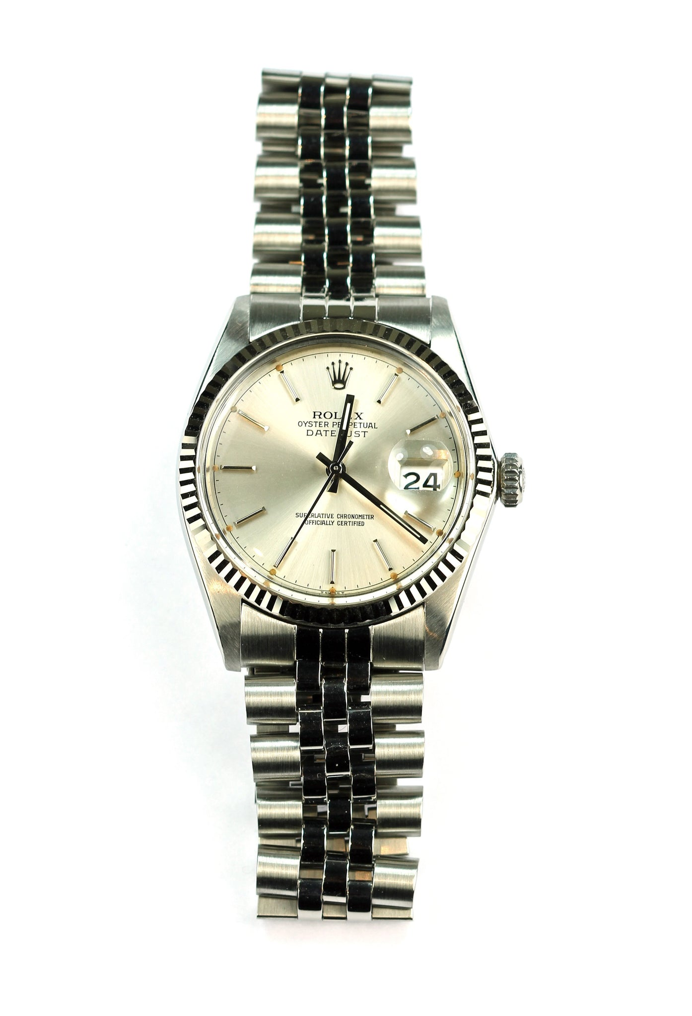 Vintage Steel Mens Rolex, SOLD